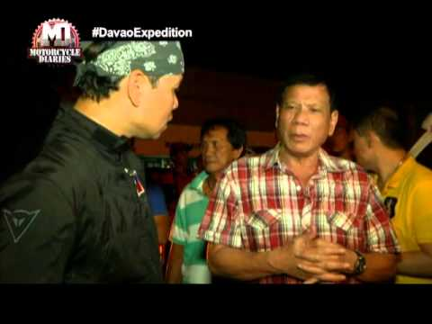 Will Davao City Mayor Rodrigo Duterte seek the presidency in 2016? | Motorcycle Diaries