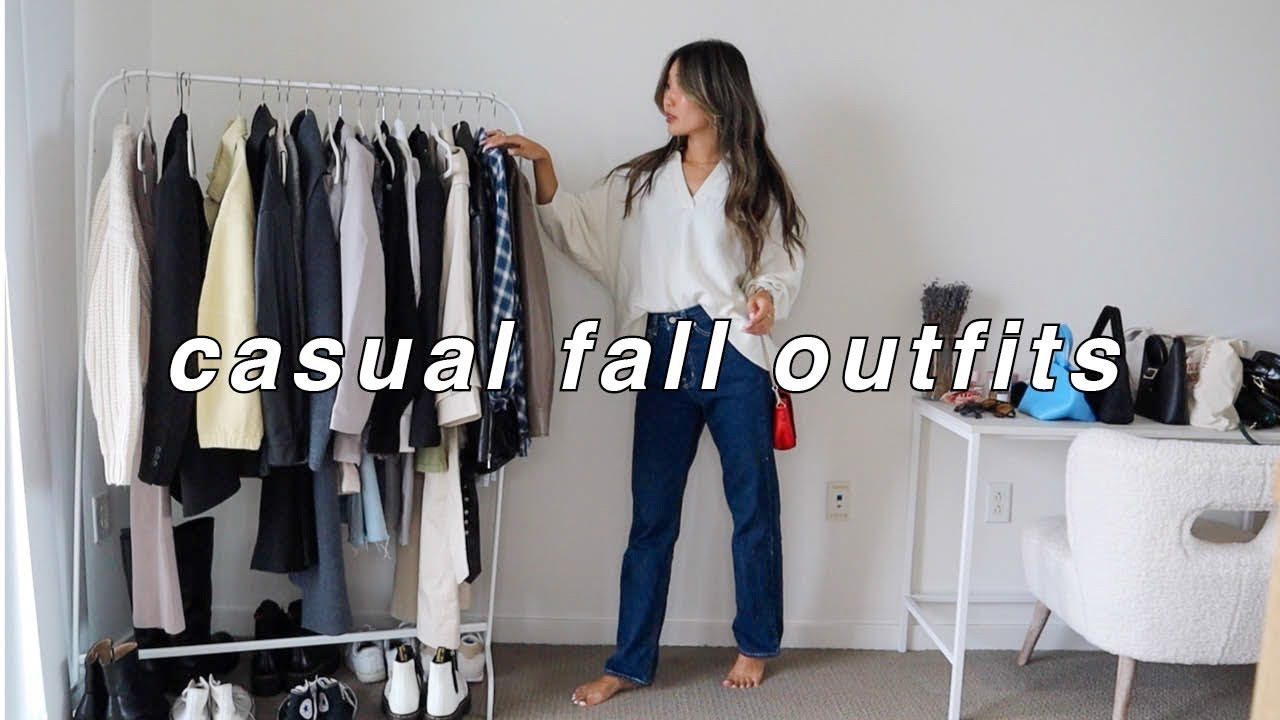 Download CASUAL FALL OUTFITS 🍁 | fall fashion lookbook 2021