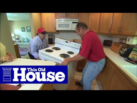 How to Install a Propane-Fueled Stove | This Old House