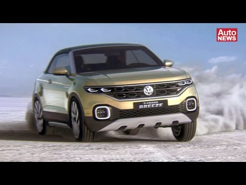 vw t cross breeze concept premiere 2016 youtube. Black Bedroom Furniture Sets. Home Design Ideas