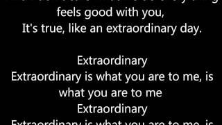 Prince Royce - Extraordinary + lyrics cover audio (letra)