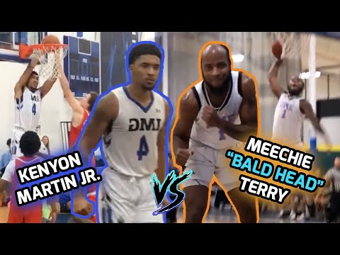 Kenyon Martin Jr. & IMG Academy SHUT IT DOWN Against Meechie Terry & DME Academy! KJ MONSTER JAMS! 😱