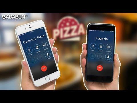 Broma   Llamando a 2 pizzerías al mismo tiempo