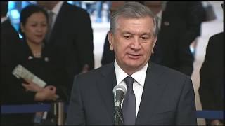 Узбекистан преподнес в дар ООН макет площади Регистан в Самарканде