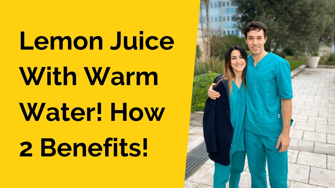 Lemon Juice With Warm Water! How to use it in thyroid disease?
