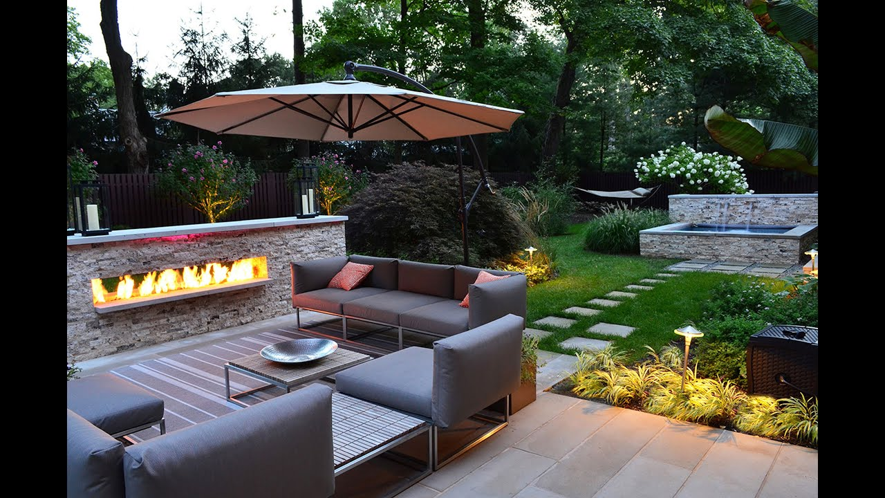 Native look modern garden landscape design idea youtube workwithnaturefo