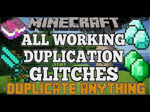 Minecraft All Working Duplication Glitches (Duplicate Anything)