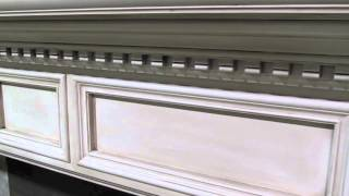 Newport Mantel With Dentil(cabinet Style For Deep Fireplace)