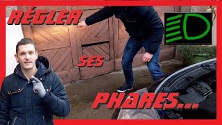 """""""TUTO"""" Comment Règler Ses Phares..."""