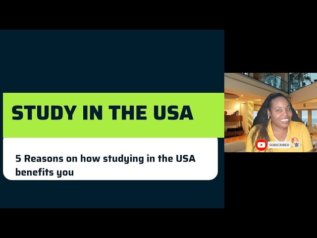 Nevalliance: 5 Reasons to Study in the USA