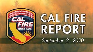 CAL FIRE UPDATE 92