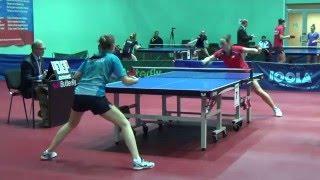 Чемпионат Москвы 2016 София КОНОВАЛЮК - Екатерина КУЧЕНКОВА