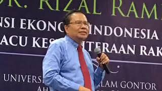 Rizal Ramli ke Gontor