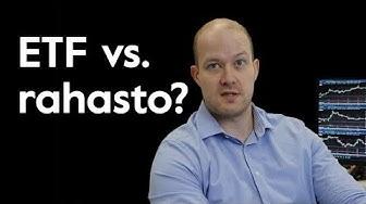 Mitä eroa on rahastoilla ja ETF:illä?