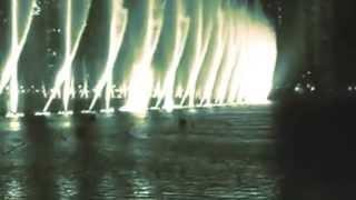 النافورة الراقصة في دبي Dancing Fountain in Dubai