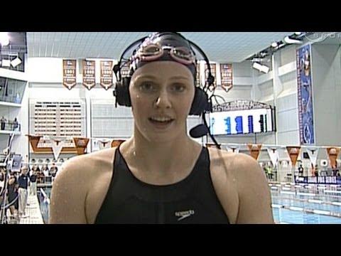 Missy Franklin wins 100 Backstroke in Austin - from Universal Sports
