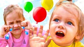 مايا وماري   أغنية الأطفال - بالونيي   Kids Song by Maya and Mary