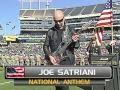Download Joe Satriani Oakland Raiders vs. Tennessee Titans NATIONAL ANTHEM MP3 song and Music Video