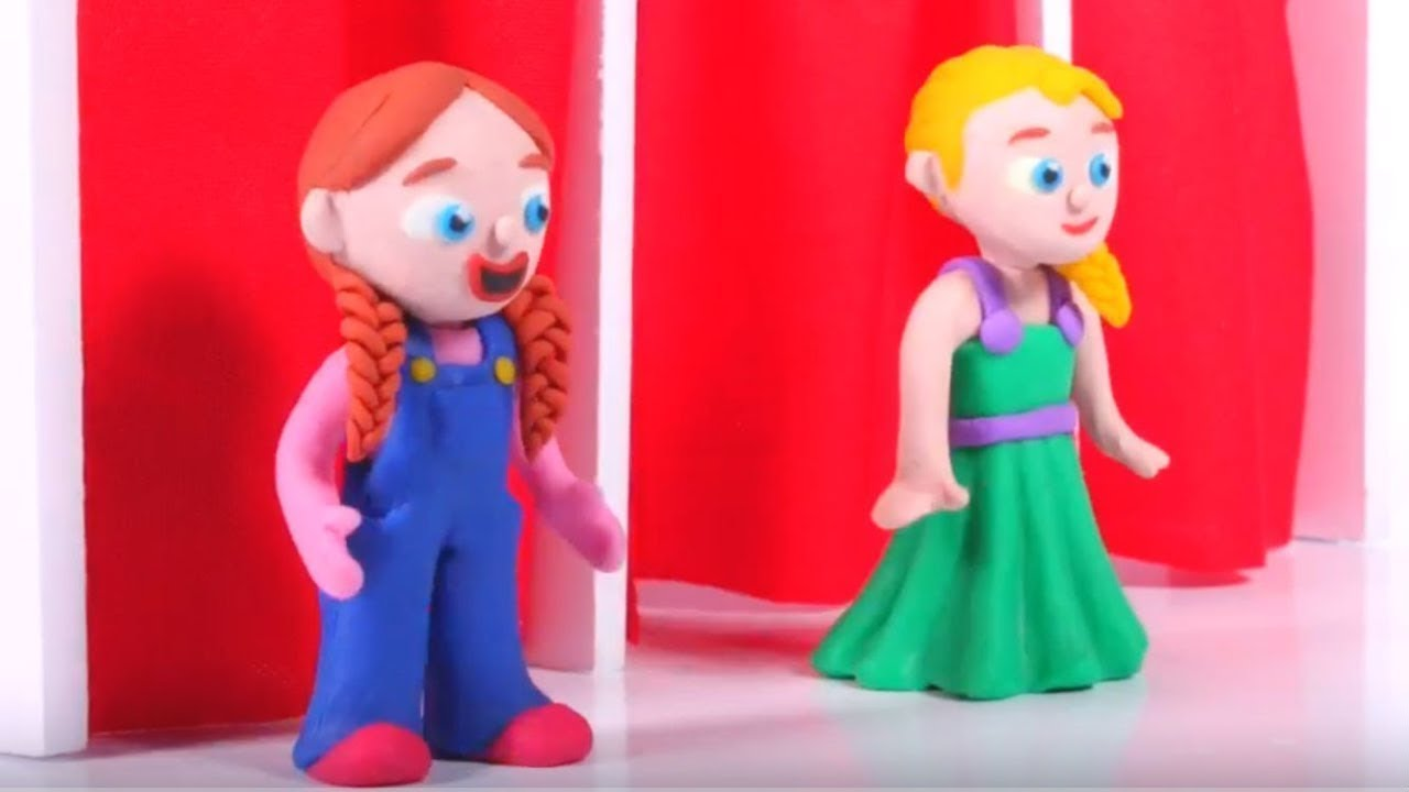SUPERHERO GIRLS NEW OUTFIT ❤ SUPERHERO PLAY DOH CARTOONS FOR KIDS