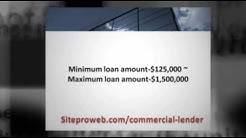 Commercial Real Estate Loans | Commercial Mortgage Lender,D