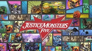 「JUSTICE MONSTERS FIVE」 ロンチトレーラー