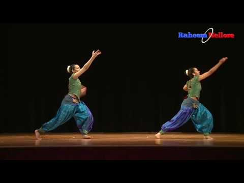 Indian Bharatanatyam With Western Music Dr. Alban Reggae Gone Mix Fusion Dance