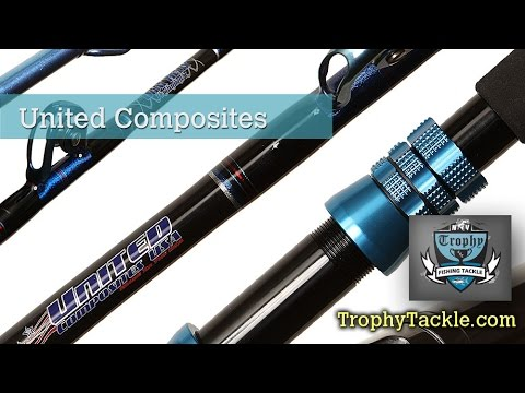 United Composites Graphite Fishing Rods- Trophy Tackle