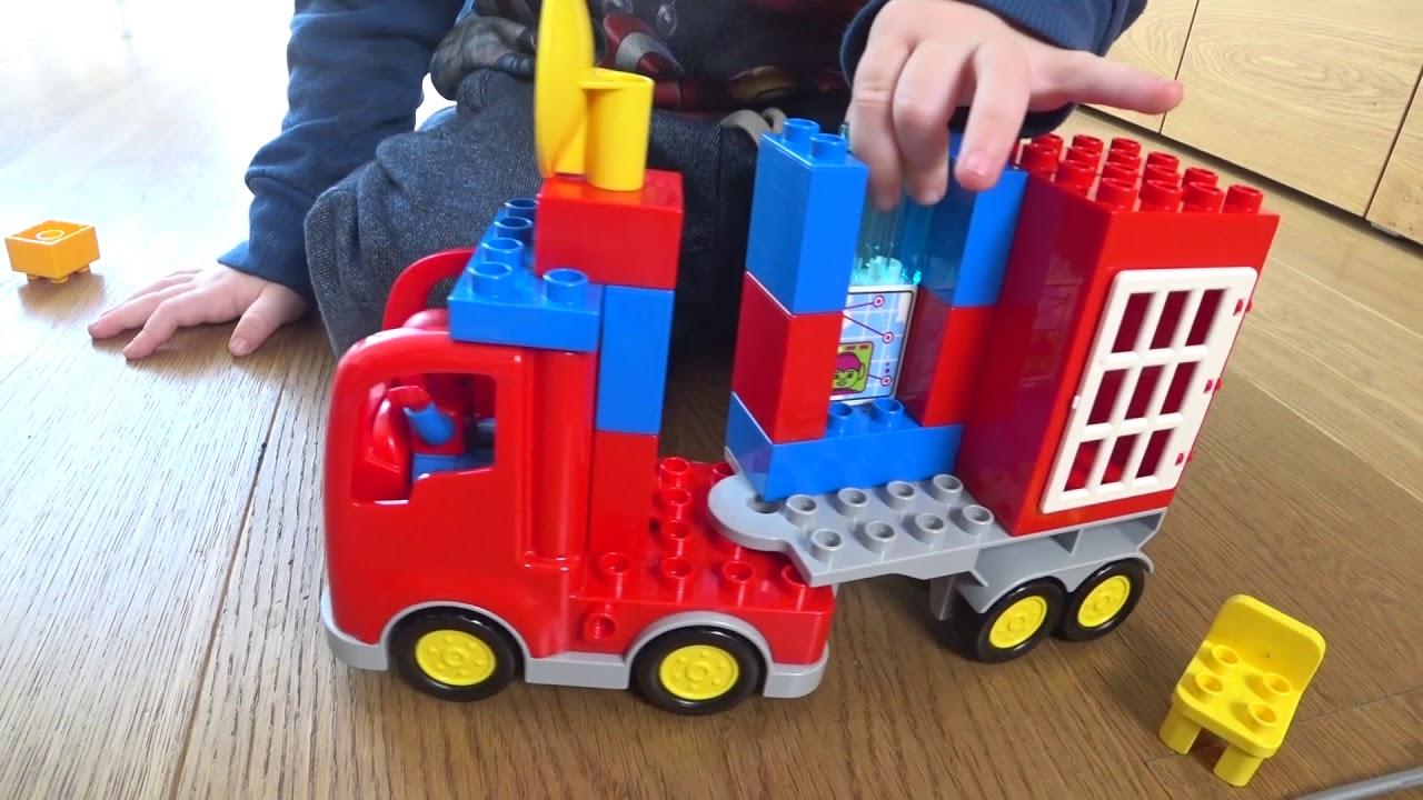 Lego Duplo Spiderman Mit Transformer Dinosaurier Youtube