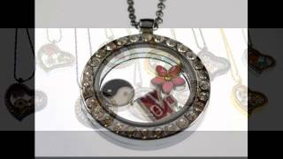 Wholesale Floating Charms for Memory lockets necklaces -China supplier