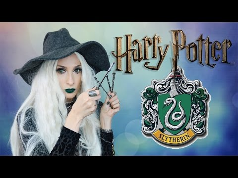 HARRY POTTER 💚 Slytherin Cadısı Hogwarts Makyajı | Sebile Ölmez