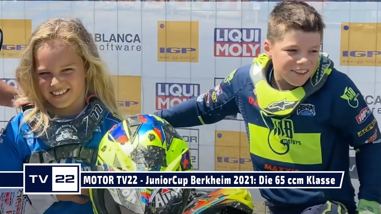 MOTOR TV22: MySportMyStory Liqui Moly Euro JuniorCup in Berkheim - Die Rennen der 65ccm Klasse
