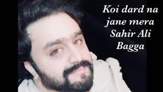 Sahir Ali Bagga - Koi Dard Na Janay Mera | Haye Rabba