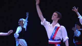 """Танец басков из балета «Пламя Парижа». """"Губернская Балетная Школа"""" (Кострома) - 2019г."""