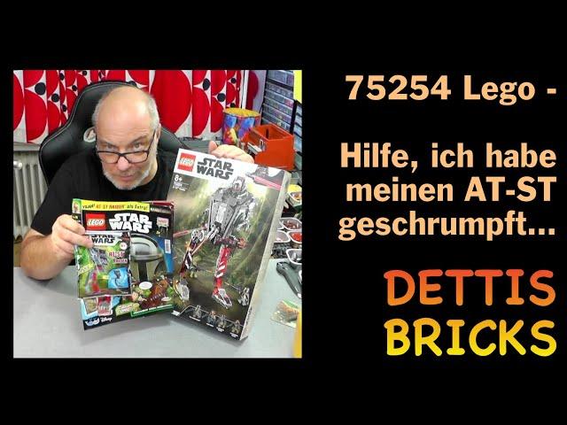 75254 Lego – Hilfe, ich habe meinen AT-ST geschrumpft…