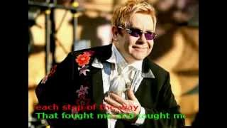 Обложка Friends Never Say Goodbye Lyrics Elton John