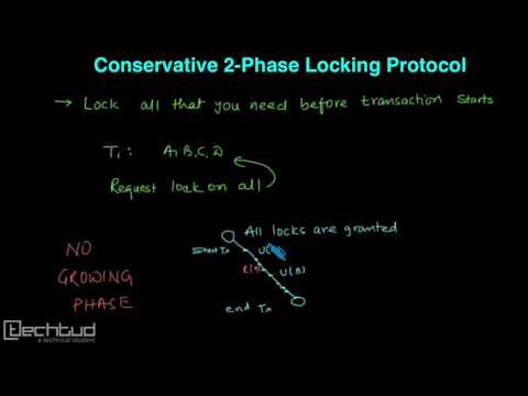 Conservative 2-Phase Locking Protocol | Concurrency Control - DBMS