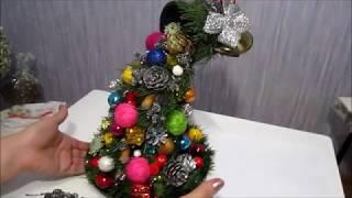 dIY.Новогодний декор. Новогоднее украшение своими руками.Новогодняя Парящая Чаша