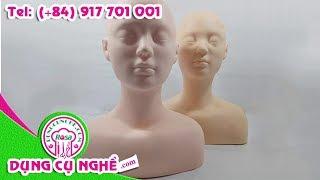 Mô hình manocanh học massage, trang điểm