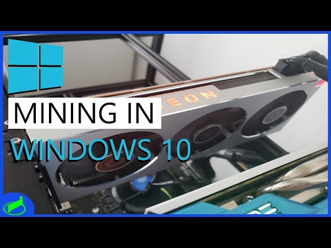 MINING IN WINDOWS 10 | Optimizing And Setting Up Your Mining Rig