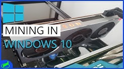 MINING IN WINDOWS 10 | Optimizing and Setting Up Your Mining Rig 2020