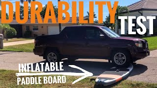 INFLATABLE PADDLE BOARD (iSUP): Durability Test & Review