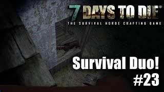 7 Days to Die - Survival Duo ☠ - Kellerhund! Let's Play #23 - Gameplay - Deutsch thumbnail