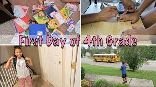 Getting Ready for School | First day of 4th Grade