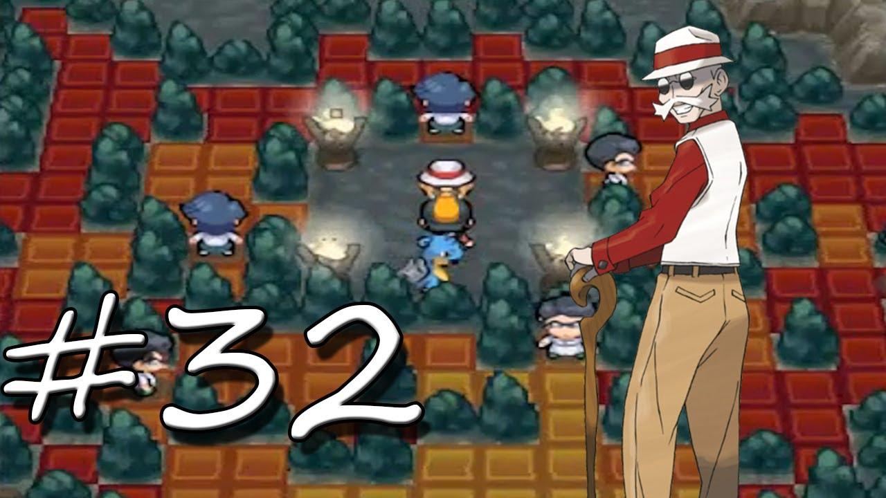 Pokemon soulsilver part 32 gym leader blaine youtube for Gimnasio 7 pokemon esmeralda