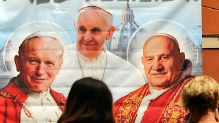 Pope Francis tells how to become a saint HD