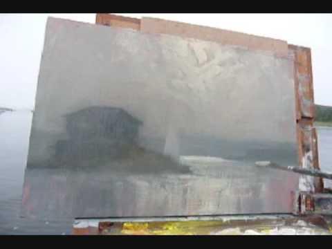 Plein Air painting Video Progression (Clingstone)