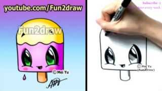 Fun Cartoons - How to Draw Summer Toons - Popsicle