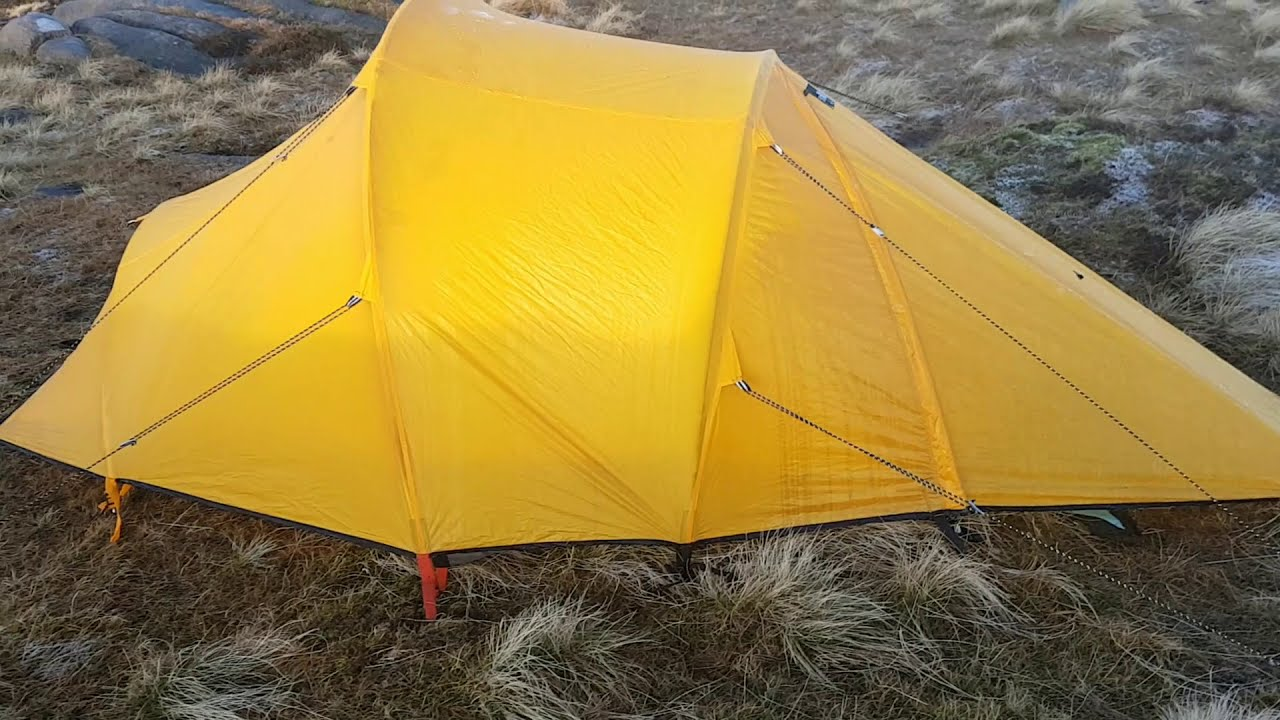 Wild Camping North Face Westwind Vs Hilleberg Nammatj2
