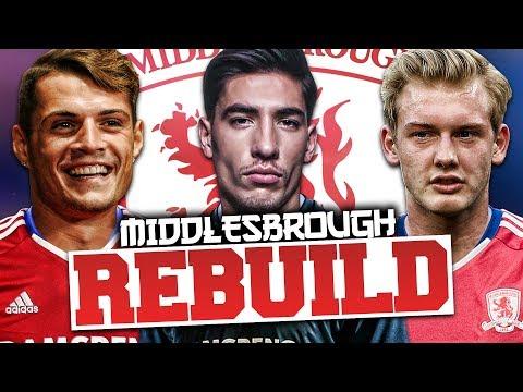REBUILDING MIDDLESBROUGH!!! FIFA 17 Career Mode