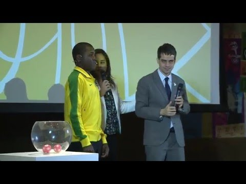 Sorteio Futebol de 5 | 5-a-side football competition draw - Rio 2016